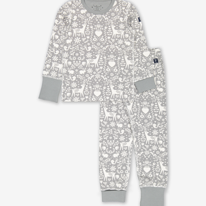 Nordic Christmas Kids Pyjamas Natural