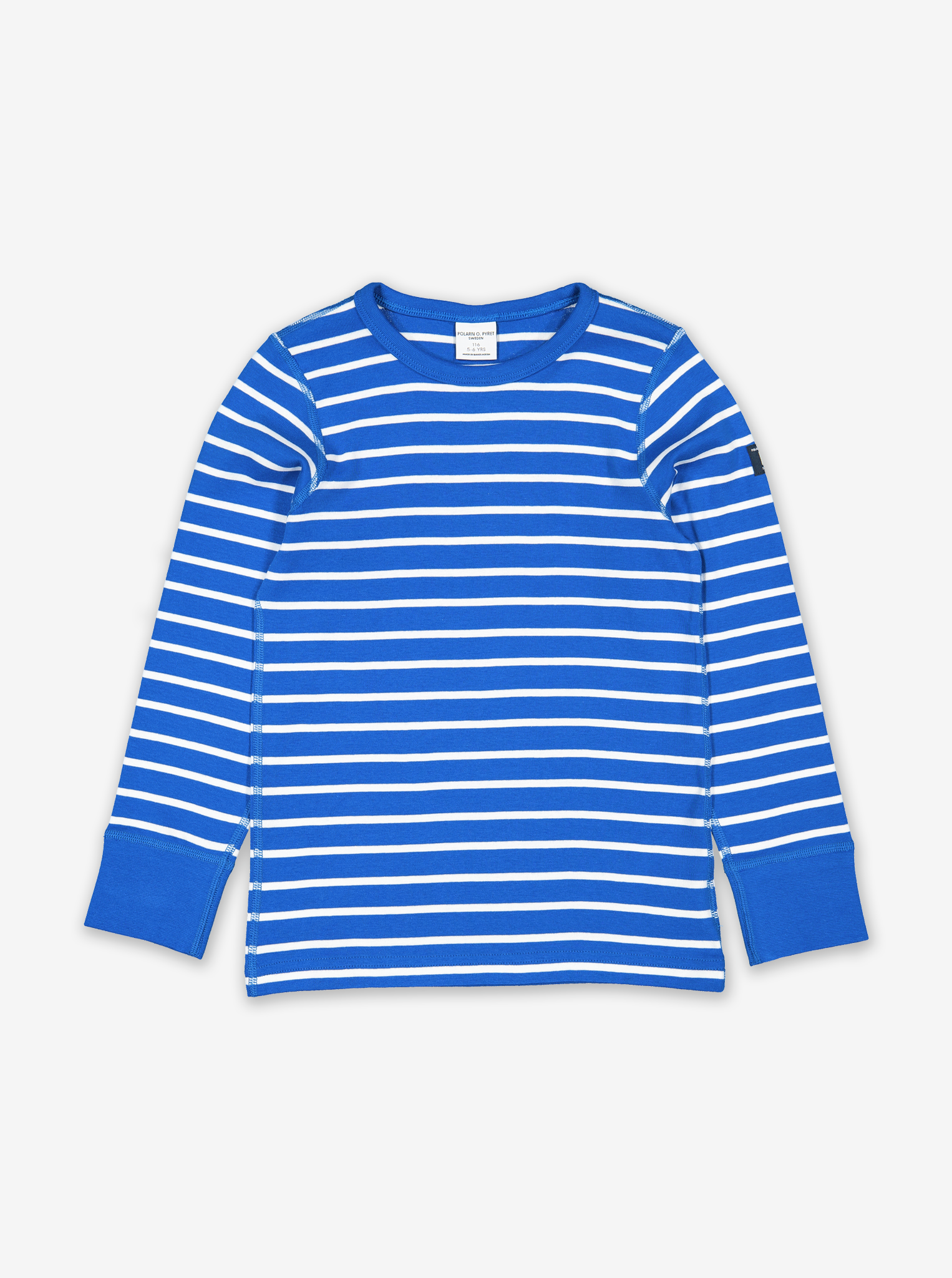Striped Kids Top-Unisex-1-6y-Blue