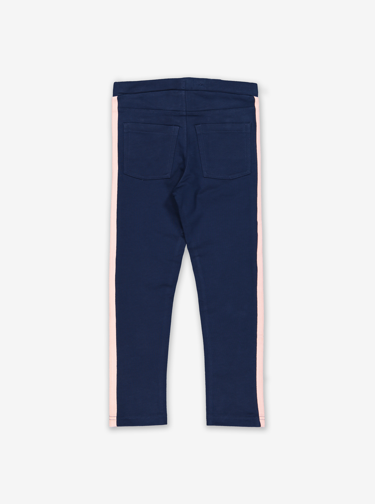 Pockets Kids Slim Track Pants-Girl-1-6y-Blue