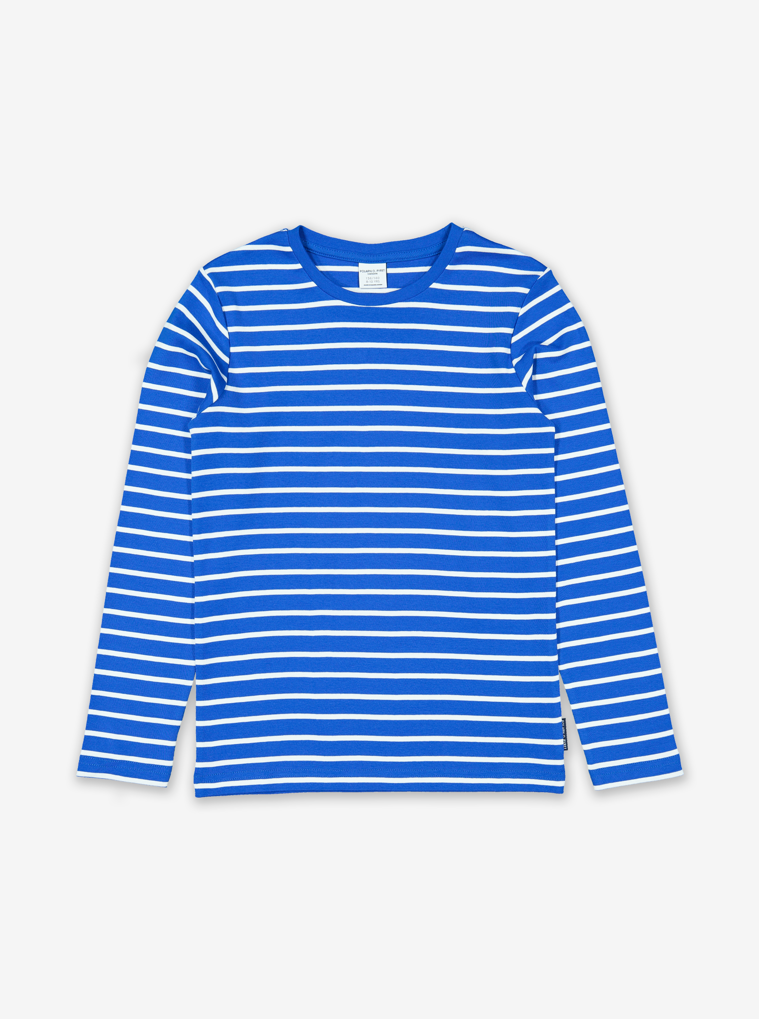 Striped Kids Top-Unisex-6-12y-Blue