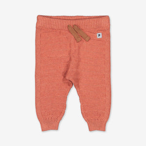 Scandi Knitted Baby Joggers