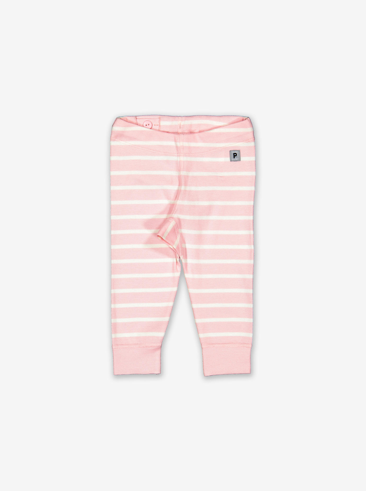 Striped Baby Leggings-Girl-0-1y-Pink