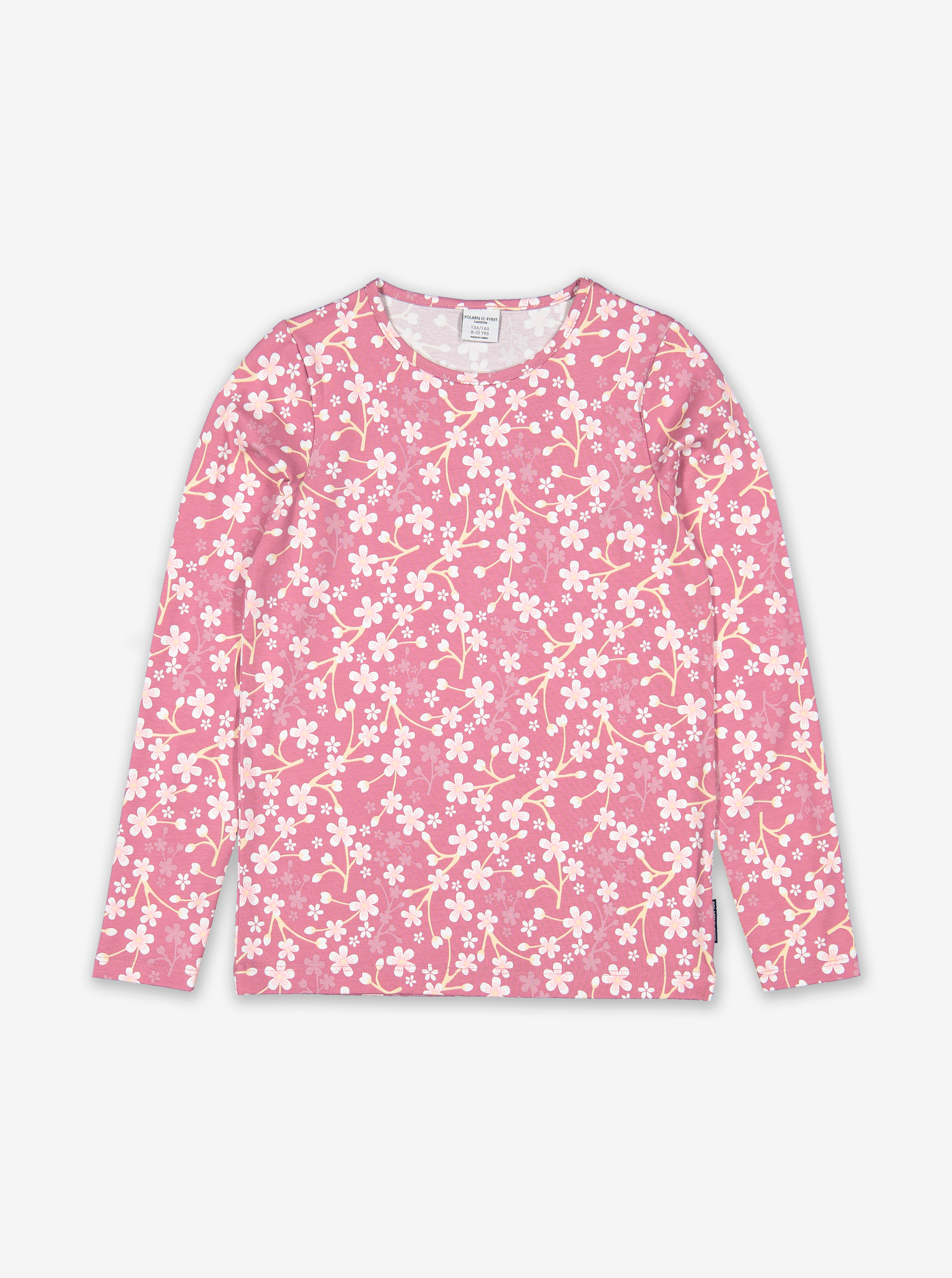 Blossom Print Kids Top-Girl-6-12y-Pink
