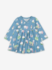 Cookie Bears Baby Dress-Girl-0-1y-Blue