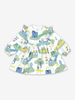 Fantasy Print Baby Dress-Girl-0-1y-Green