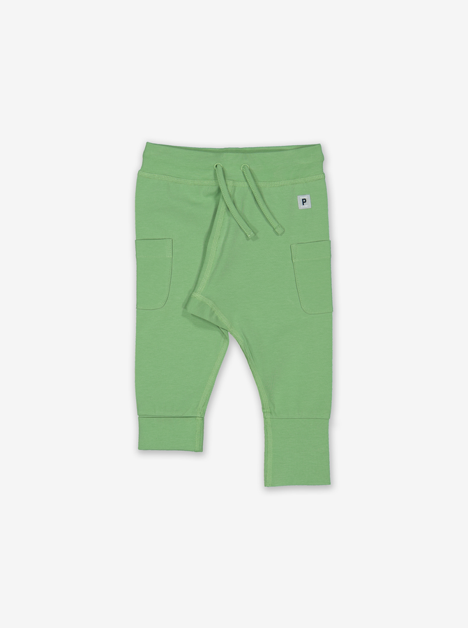 Soft Baby Trousers-Unisex-0-1y-Green