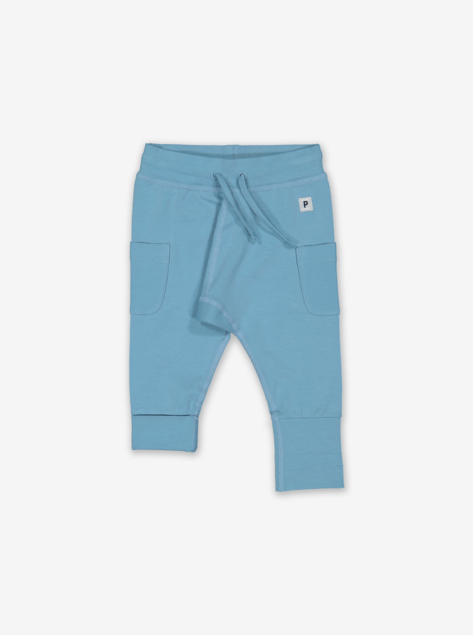 Soft Baby Trousers-Unisex-Prem-12m-Blue