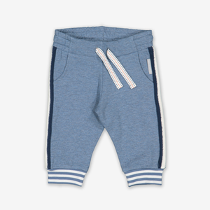 Sporty Stripe Baby Joggers-Boy-0-1y-Blue
