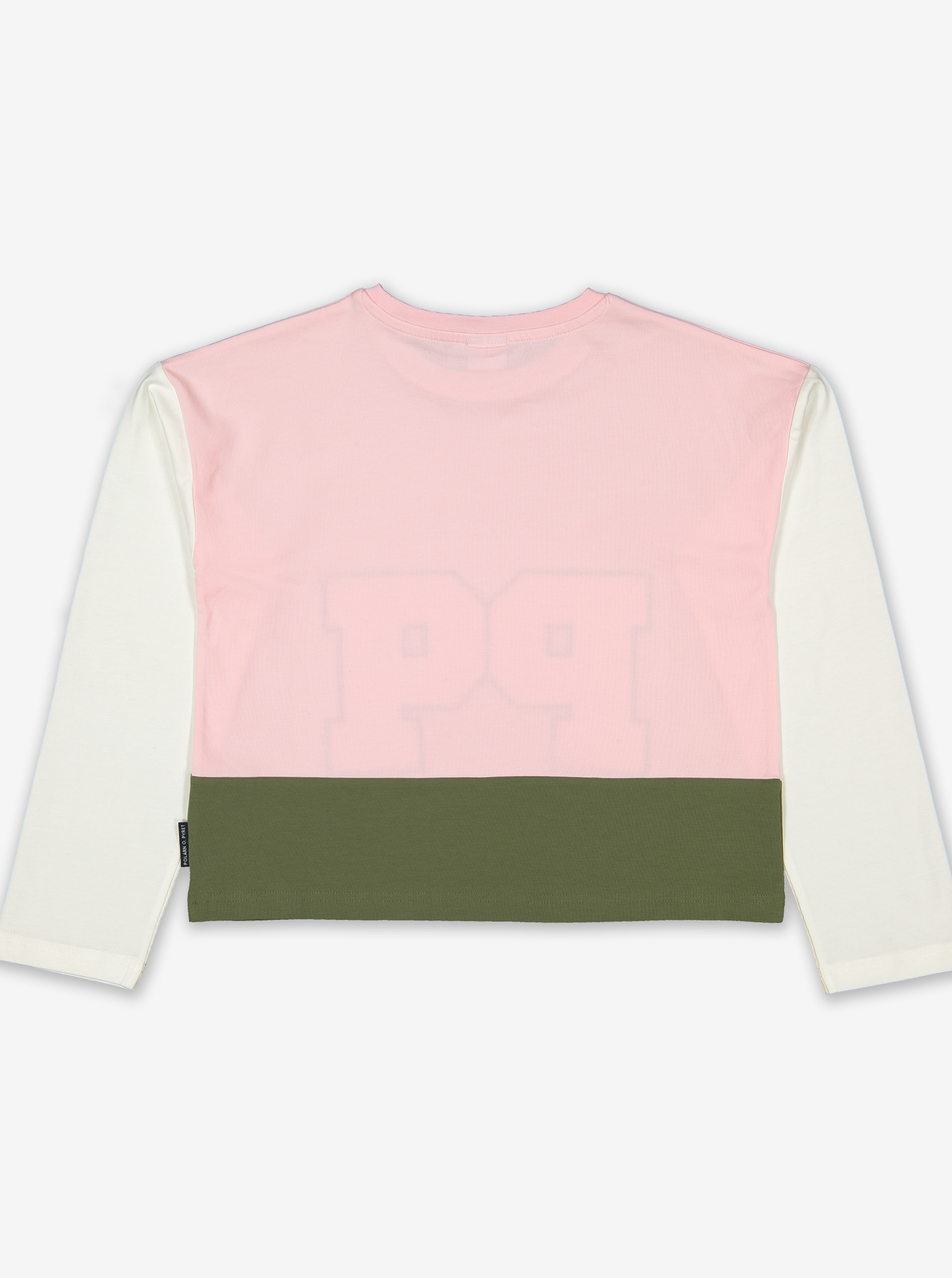 Appliqu㉠P Kids Crop Top-Girl-6-12y-Pink