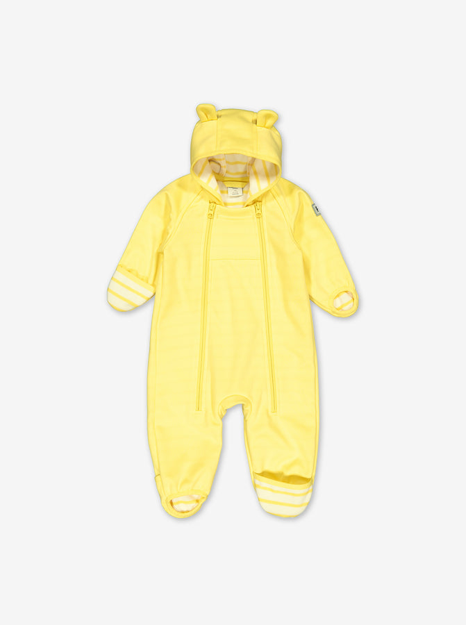 Soft Shell Windproof Baby Pramsuit