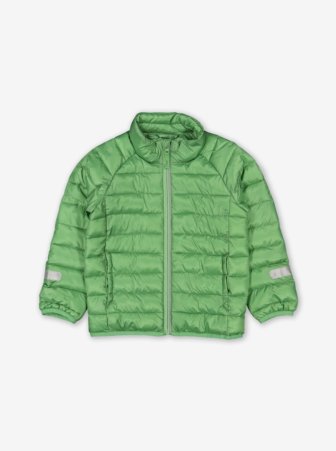 Water Resistant Kids Puffer Jacket-Unisex-Green-6m-6y
