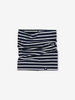 Striped Kids Neck Warmer-Unisex-Blue-One size