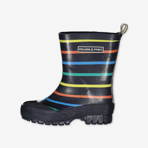 PO.P Multi Stripe Kids Wellies