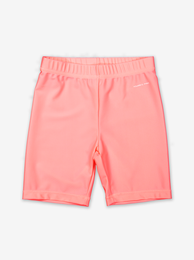 UPF 50 Kids Swim Shorts-Girl-1-8y-Pink