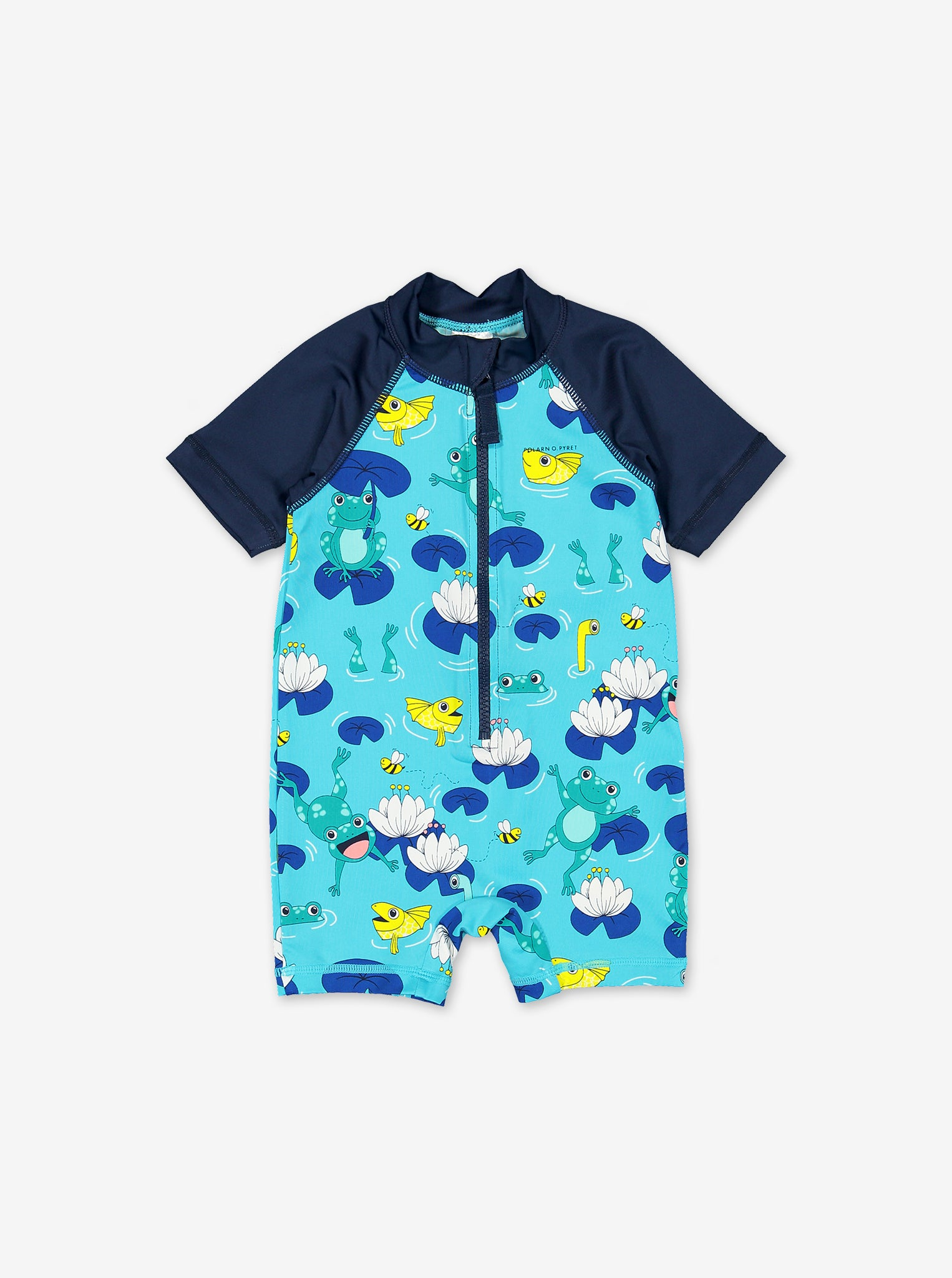 UPF 50 Frogs Kids Swimsuit