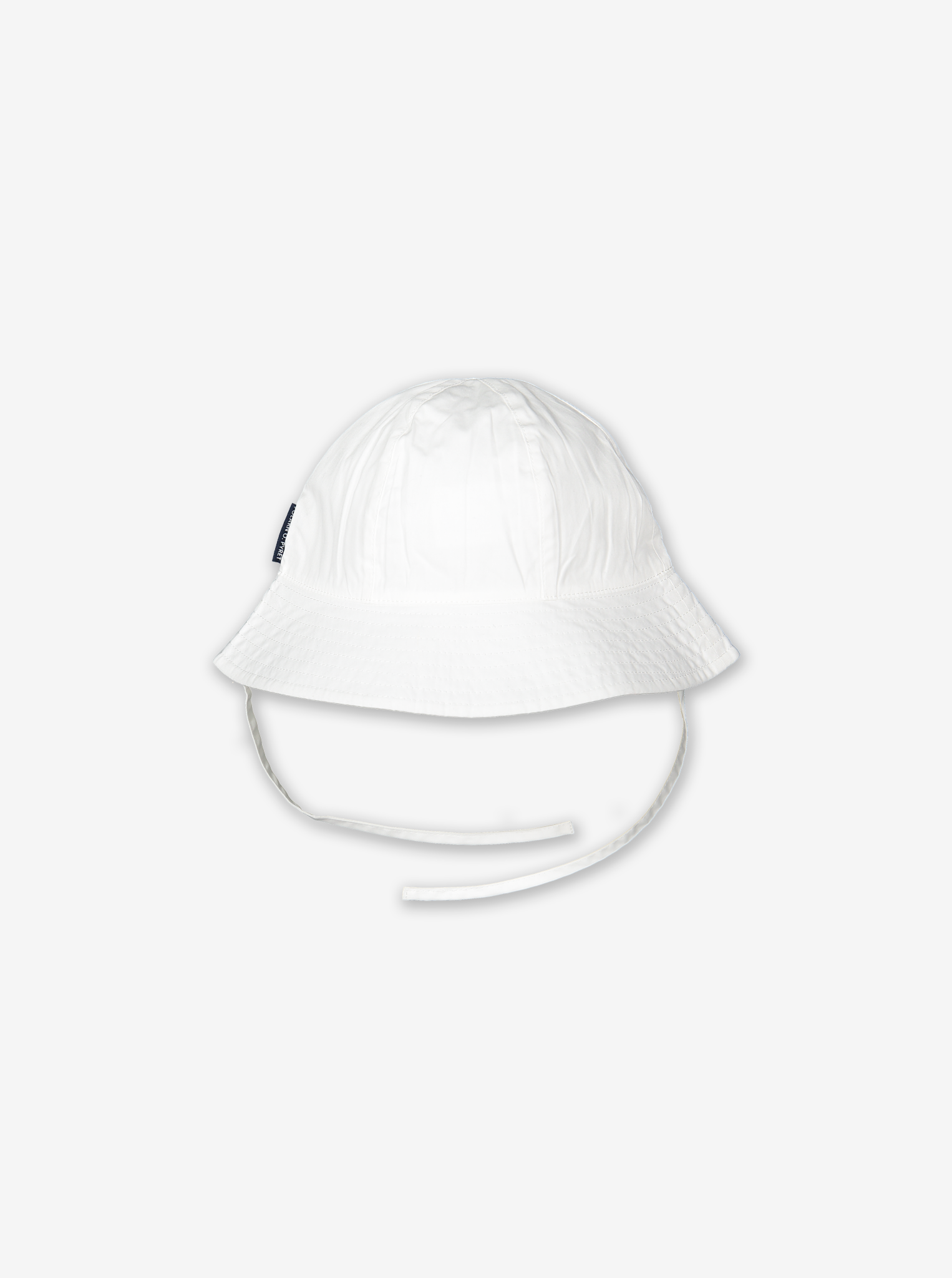 UV Kids Sun Hat-Unisex-1m-6y-White