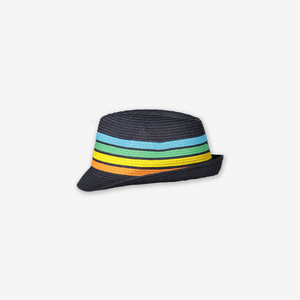 Kids Straw Hat-Boy-9m-12y-Blue