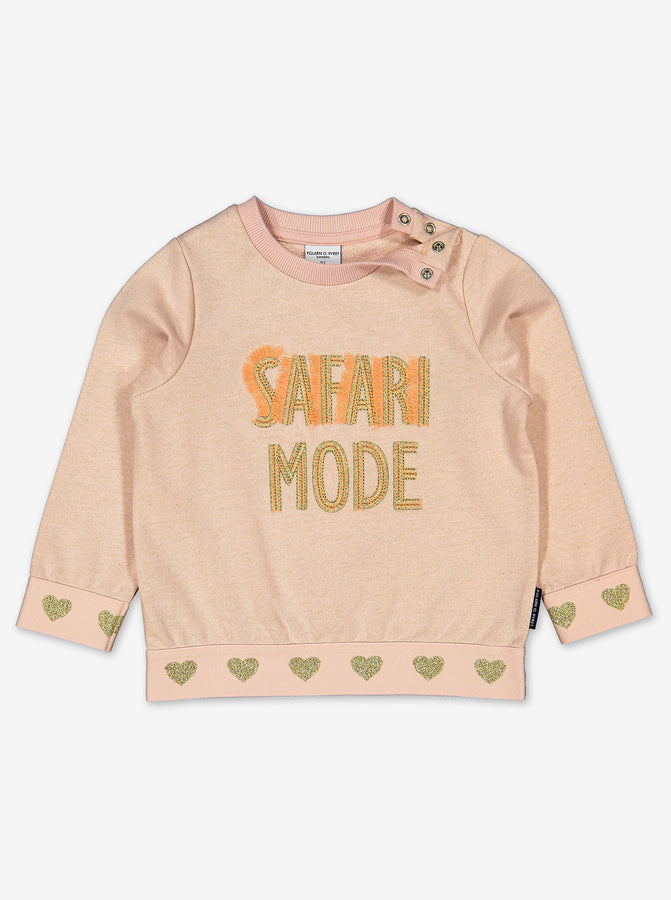 Glitter Safari Kids Sweatshirt