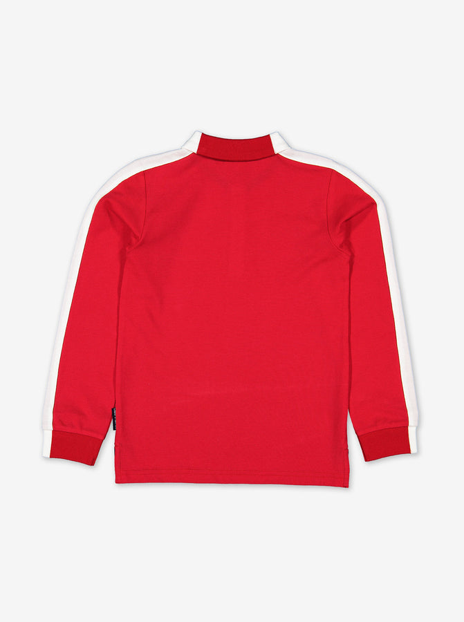 Long Sleeve Kids Polo Top