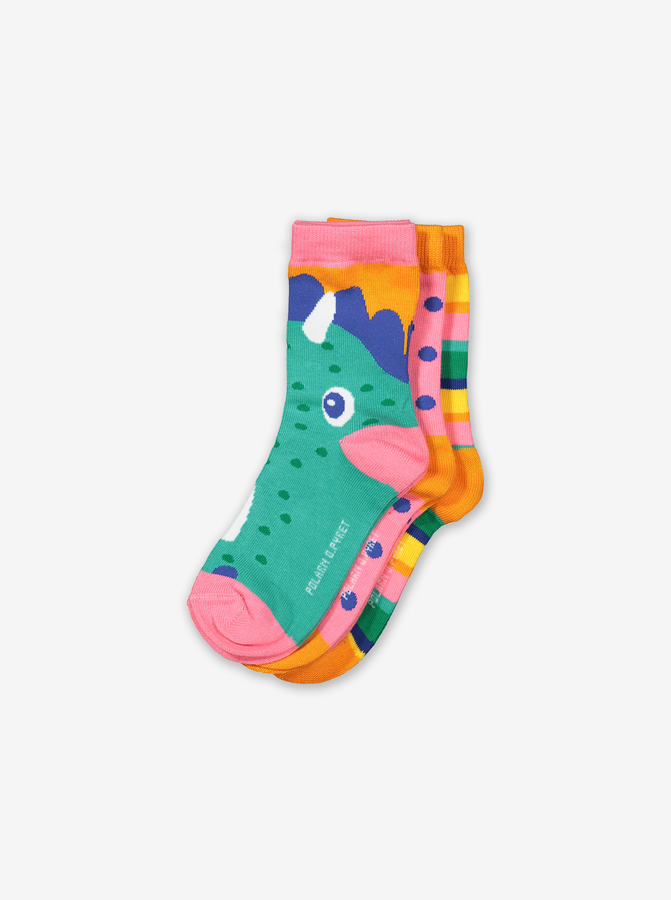 3 Pack Kids Socks-Girl-1-8y-Pink