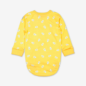 Pineapple Print Baby Bodysuit