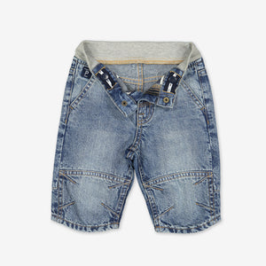 Long Denim Kids Shorts