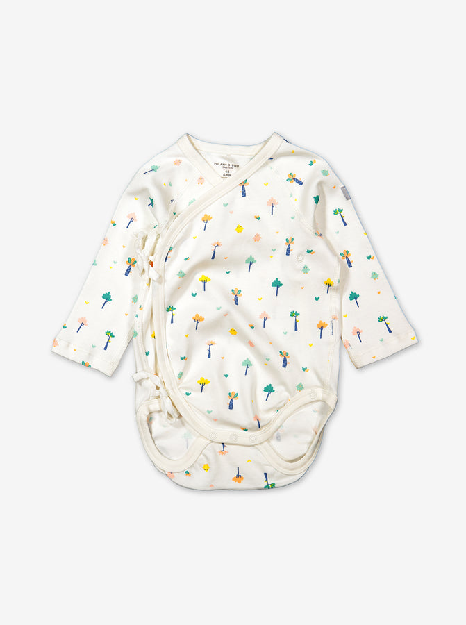 Little Tree Wraparound Baby Bodysuit