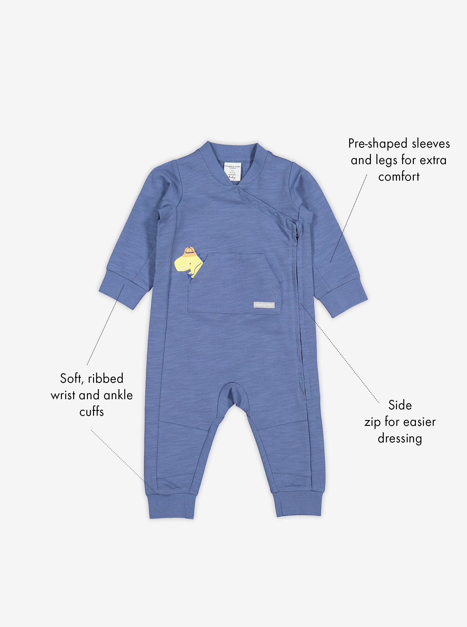 Dinosaur Applique Kids Romper
