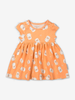 Little Lamb Baby Dress-Girl-0-1y-Orange