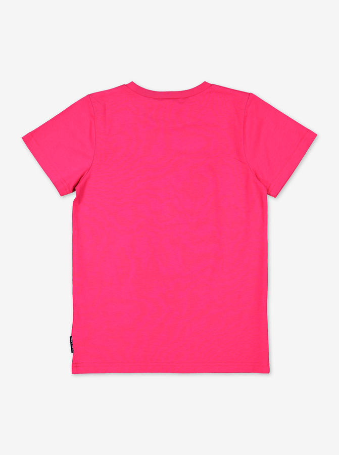 Organic Kids T-Shirt-Unisex-6-12y-Purple
