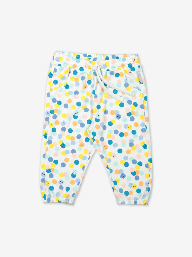 Polka Dot Baby Trousers