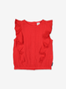 Cheese Cloth Kids Top-Girl-6-12y-Red