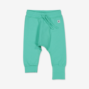 Soft Baby Trousers-Unisex-0-1y-Turquoise