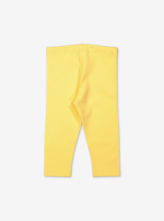 Organic Baby Leggings-Unisex-0-1y-Yellow