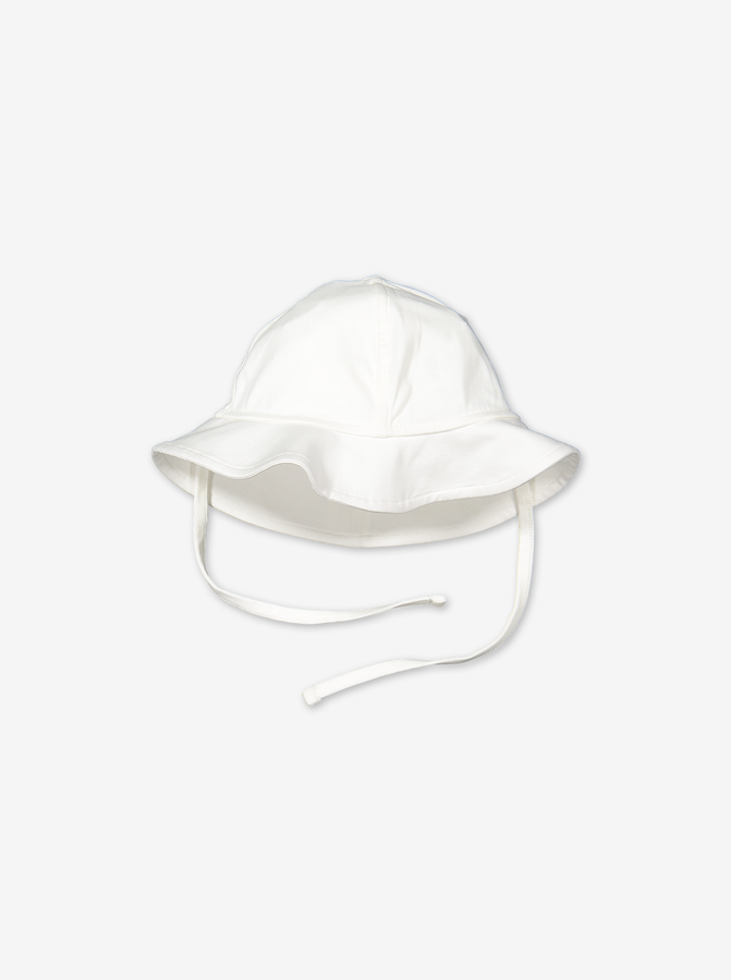 Baby & Toddler Sun Hat-Unisex-1-12m-White