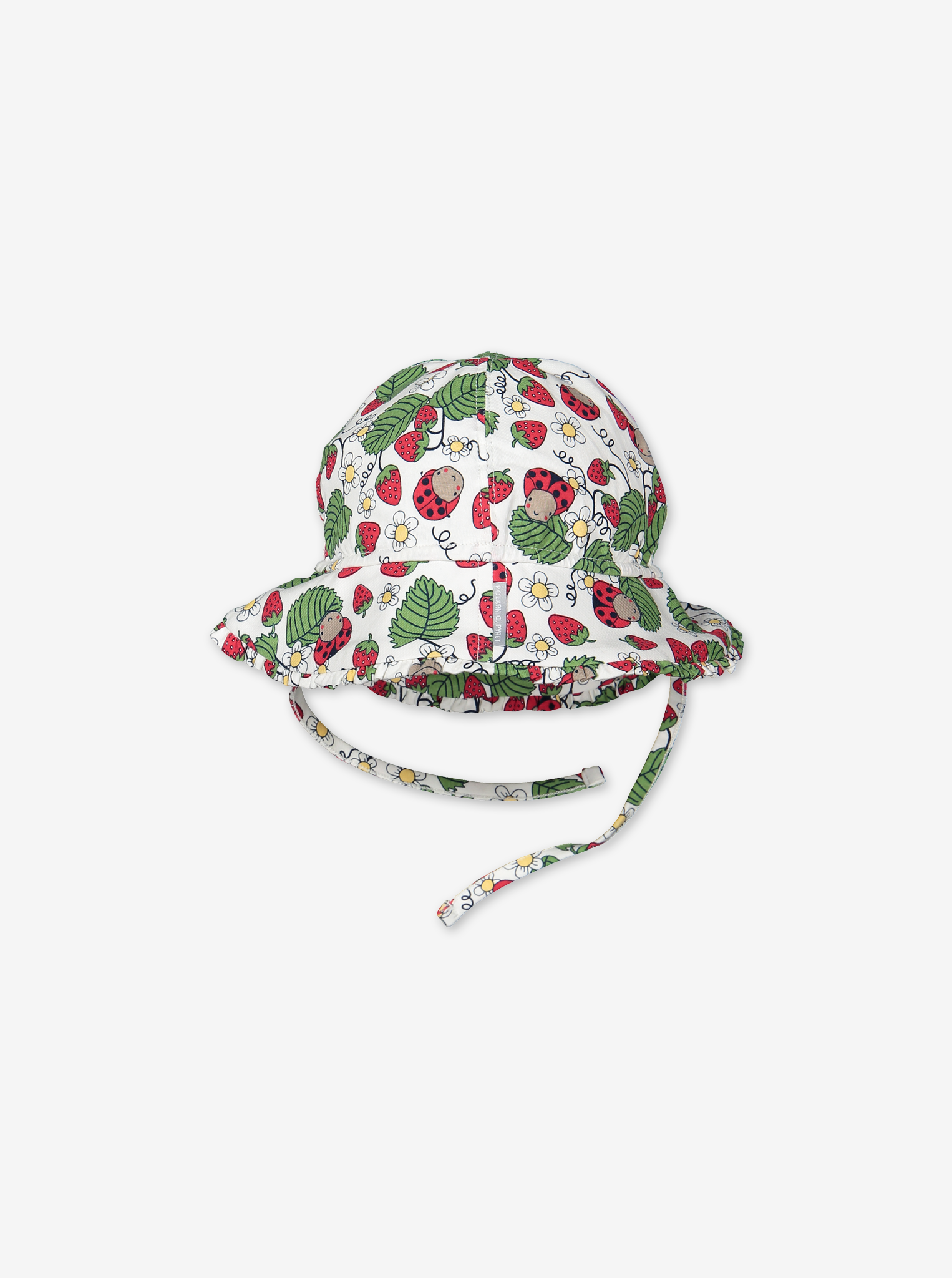 Summer Strawberry Baby Hat-Girl-1-24m-White