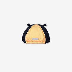 Embroidery Bee Baby Cap-Unisex-1m-2y-Yellow