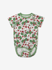 Summer Strawberry Baby Bodysuit-Girl-6-12m-White