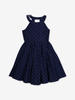 Spotted twirl dress-Girl-1-12y-Blue
