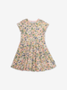 Scandi Floral Kids Dress-Girl-1-6y-Pink