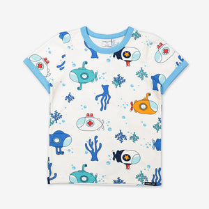 Submarine Print Kids T-Shirt