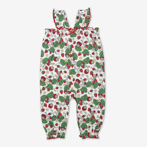 Summer Strawberry Baby Playsuit