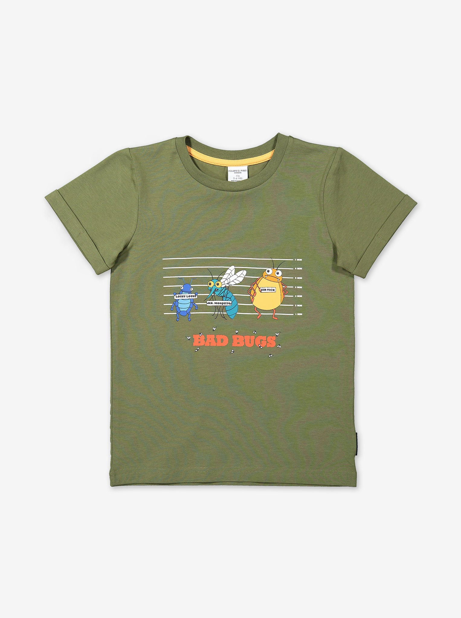 Kids Insect Print T-Shirt