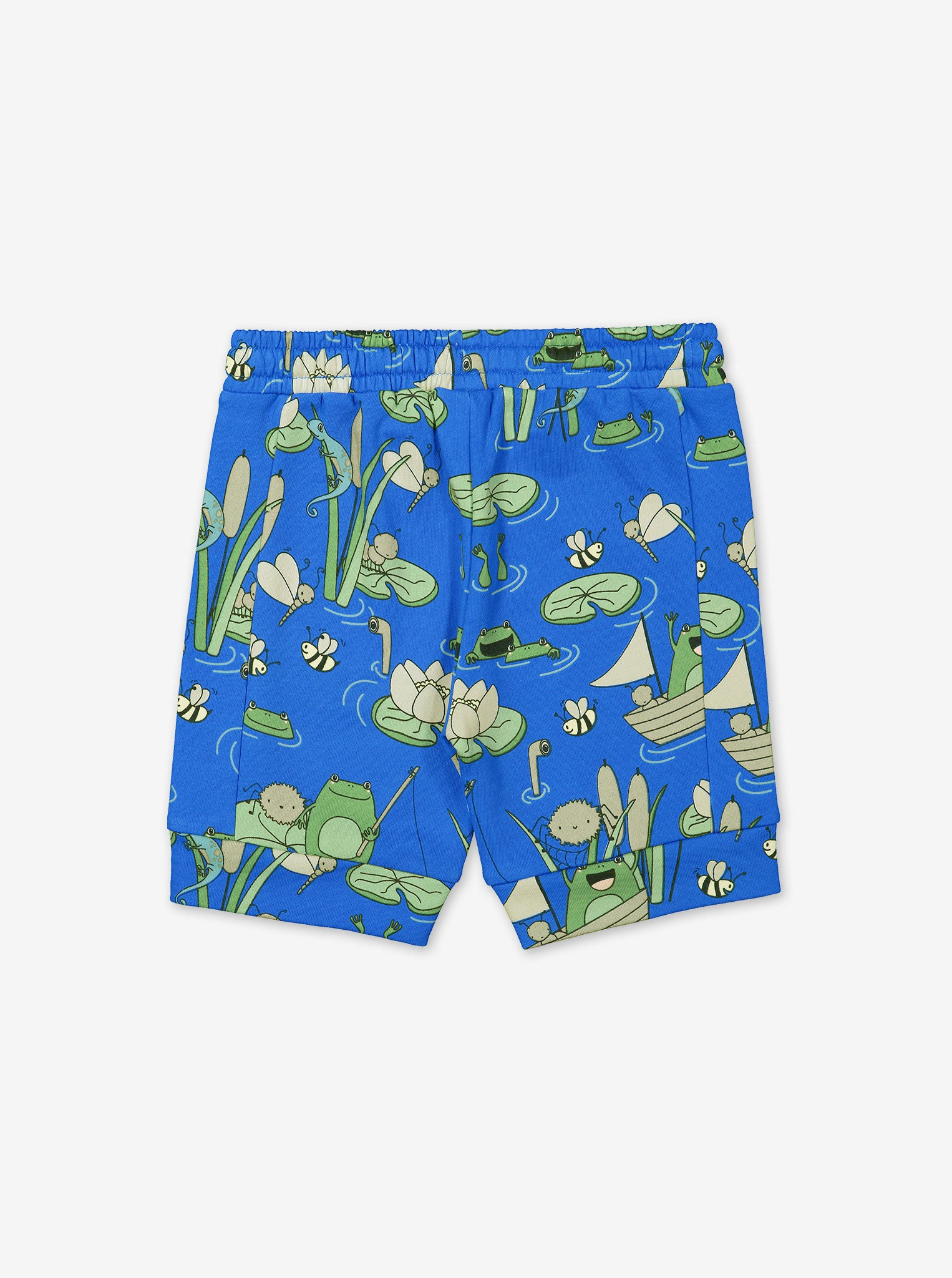 Pond Print Kids Sweat Shorts