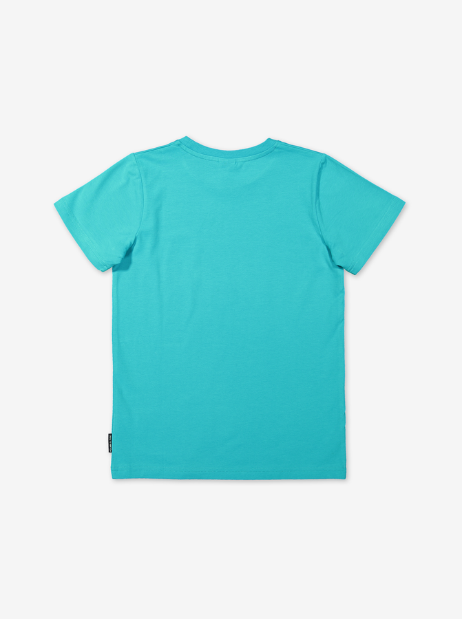 T-shirt with print-Boy-6-12y-Turquoise