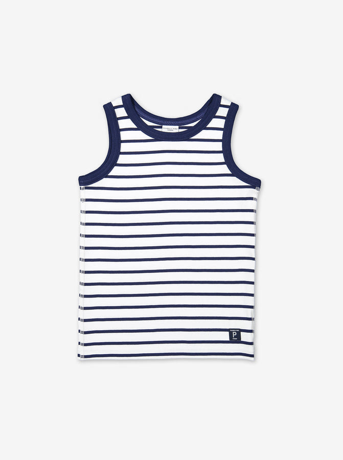 Striped Kids Vest Top