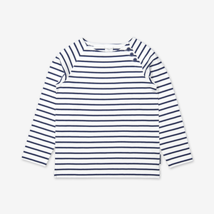 Breton Stripe Kids Top-Unisex-1-12y-Blue