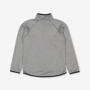 Kids Fleece Jacket-Unisex-Grey-1-12y