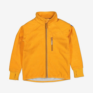 Kids Waterproof Fleece Jacket-9m-10y-Yellow-Unisex