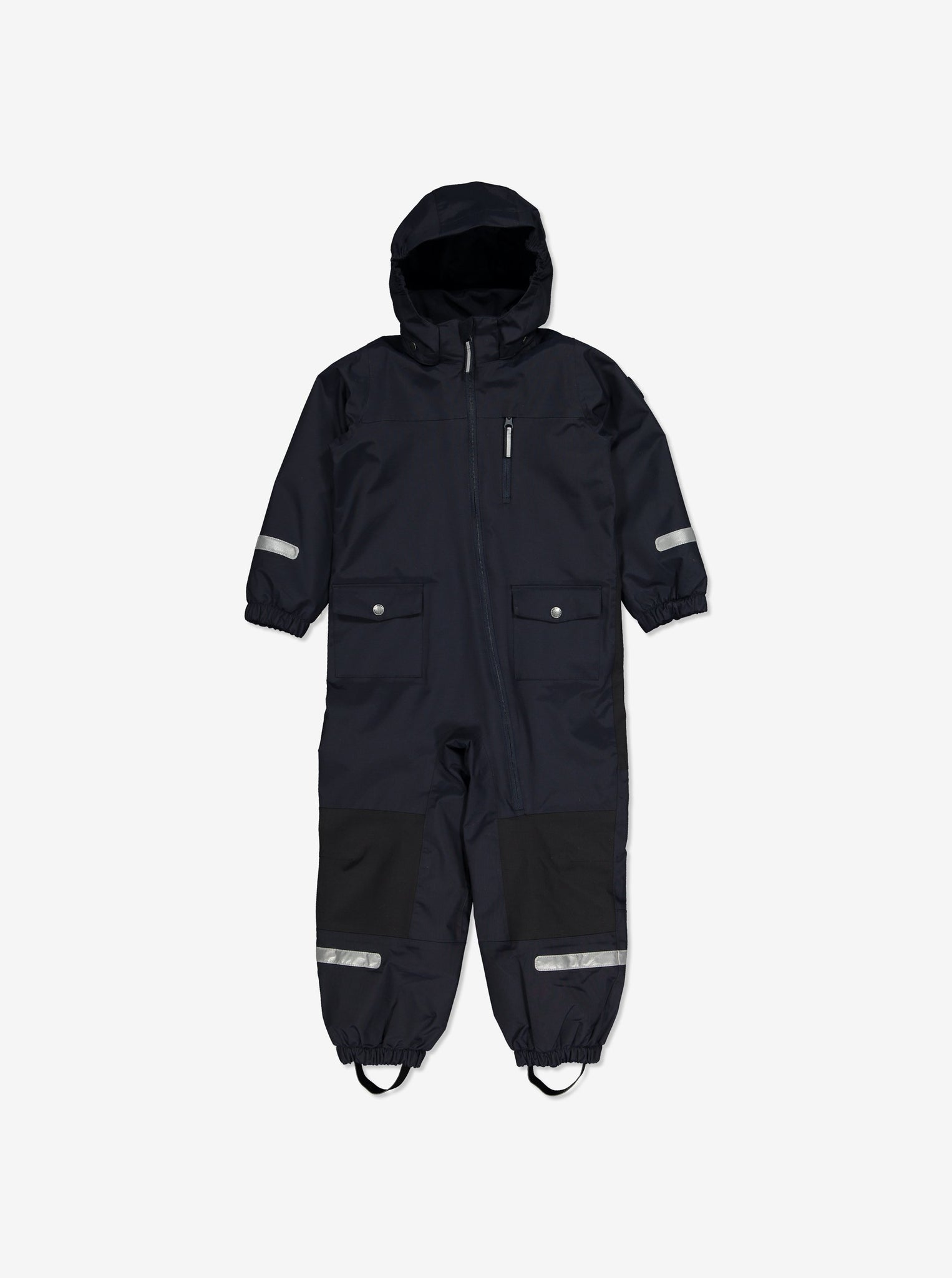 Waterproof Shell Fleece Lined Kids Overall-2-6y-Navy-Boy